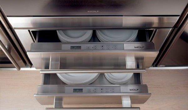 Cajón calentador | Cocinas Nogales