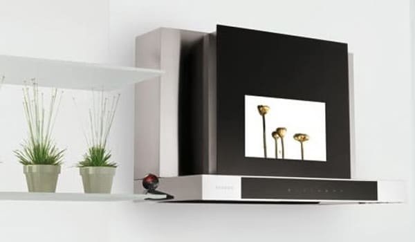Campana con TV | Cocinas Nogales