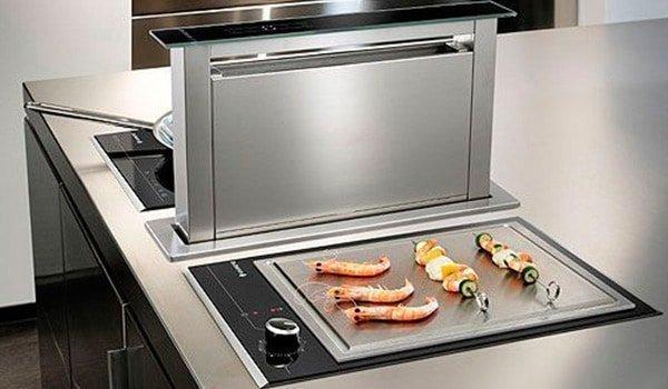Sistemas de aspiración | Cocinas Nogales