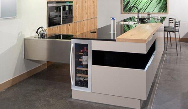 Vinotecas integradas | Cocinas Nogales